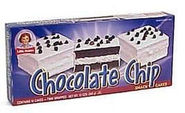 Little Debbie Snacks Chocolate Chip Cakes (Pack of 6) - $32.83