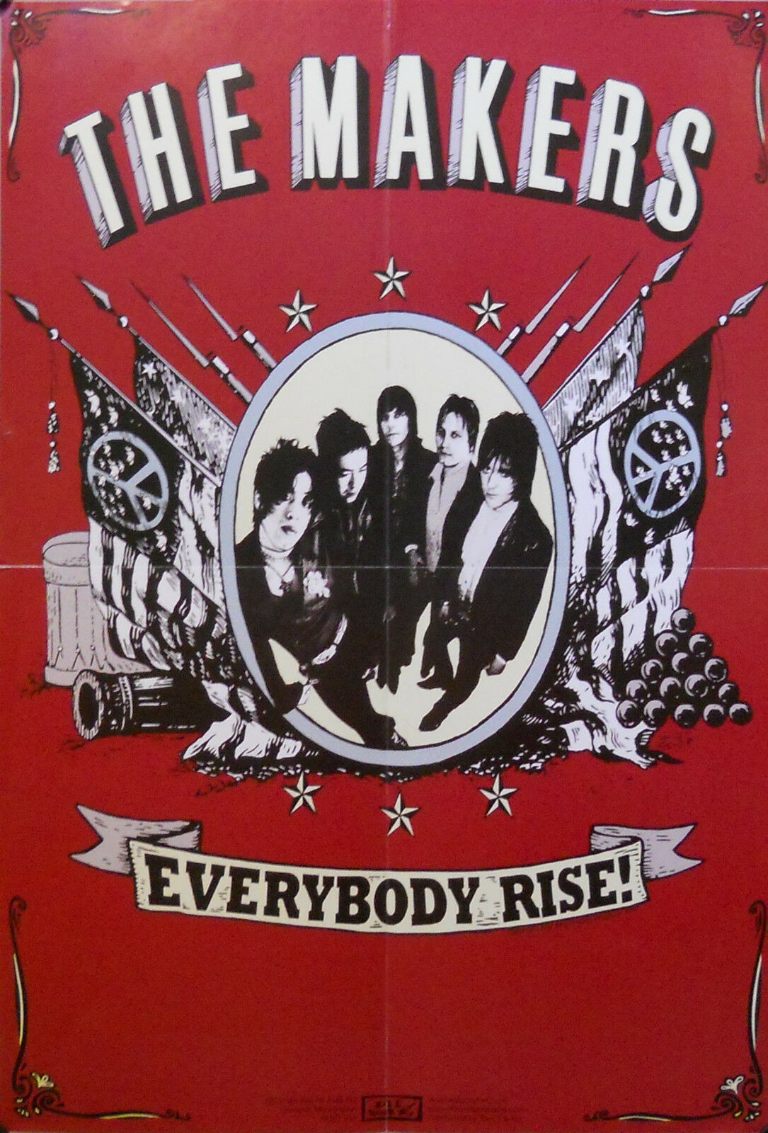Primary image for MAKERS, EVERYBODY RISE POSTER (B9)