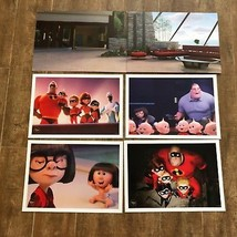 The Incredibles 2 Lithograph set 4 picture Disney Store exclusive Edna Mode - $29.50