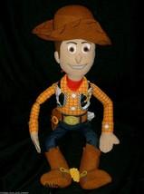 "20"" Disney Toy Story Woody Cowboy Stuffed Animal Plush Doll Northwest 2010 Big - $18.70"