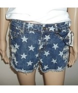 Freestyle Revolution Stars Junior  Womens Jean Distressed Shorts Size 3,NWT - £8.49 GBP
