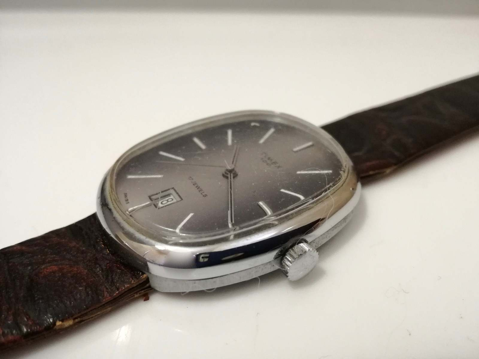 Primary image for vintage Timex 100 mechanical watch / gift for him / wrist watch Automatic watch