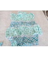Beautiful Okie Dokie Girl's 2 Piece Outfit 0-3 Months With Bib - $7.99