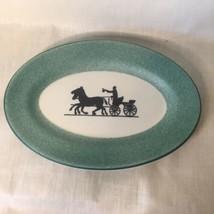 Shenango China USA Restaurant Ware Horse & Buggy Silhouette Relish Servi... - $19.79