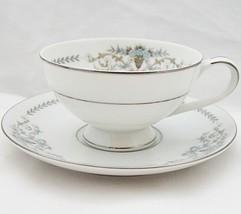 Mikasa Margaret 5555 Cup and Saucer Porcelain - $10.99