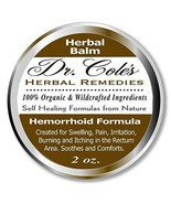 Dr. Cole's Hemorrhoid Treatment. Organic Herbal Ointment for Hemorrhoid ... - $21.46