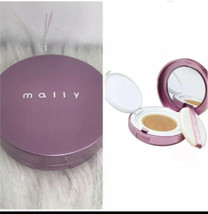 Mally Poreless Perfection Fluid Foundation Cushion MEDIUM w/ Applicator ... - $9.16