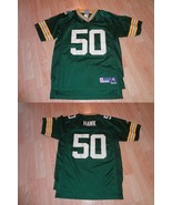 Youth Green Bay Packers A.J. Hawk L (14/16) Reebok (Embroidered) Jersey - $9.49