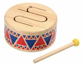 Plan Toys Solid Drum 6404 Music Instrument, Authorized Retailer FREE SHI... - $26.95