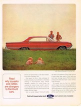 Vintage 1964 Magazine Ad Ford Read Why Squeaks & Rattles Are Strangers to Ford - $5.93