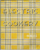 Vintage HOTPOINT Electric Cookery ~ Instructions & Recipes ~ Photos of R... - $9.99
