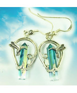 Haunted FREEBIE EARRINGS ACCELERATED MENTAL SKILLS LIGHTNING WITHIN MAGICK  - $0.00