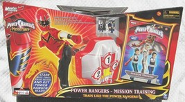 POWER RANGERS MYSTIC FORCE MISSION TRAINING SET WITH DVD - $49.49
