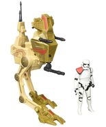 Star Wars Desert Assault Walker with Figure - EE Exclusive 2015, Hasbro 4+ - $28.41