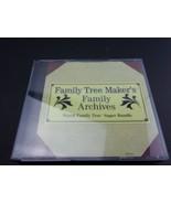 Family Tree Maker's Family Archives World Family Tree Super Bundle PC CDs - $13.71