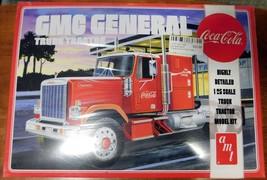 AMT 1976 GMC General Semi Tractor (Coca-Cola) 1/25 Model Kit AMT1179-NEW - $33.25