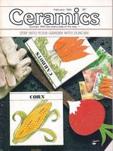 Ceramics -- The world's most fascinating HOBBY! Magazine February 1984 - $4.95