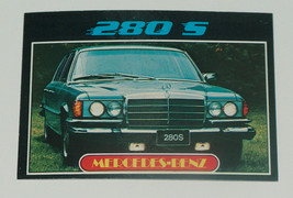 1976 topps cars 1977 mercedes benz 280s car card #74 FR-GD Condition - $11.95