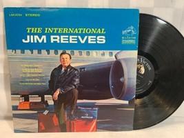 JIM REEVES The International LP Record Album Vinyl - $270,50 MXN