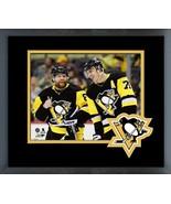 Evgeni Malkin & Phil Kessel 2018 Pittsburgh Penguins-11x14 Matted/Framed... - $43.55