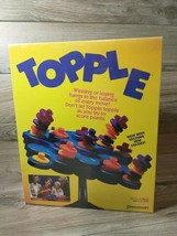 Pressman Topple Board Game Vintage 1992 #9026 Balance Game for 2 to 4 Players - $29.70