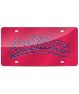 NCAA Rico Tag Express Fresno State Bulldogs Acrylic Laser Tag License Pl... - $18.95