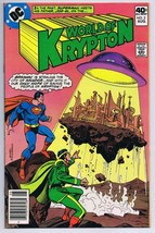Superman World of Krypton #2 ORIGINAL Vintage 1979 DC Comics Brainiac - $9.49