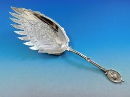 Medallion by Wendt Sterling Silver Macaroni Server 9 Teeth Fancy Brite C... - $1,509.00