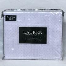 Ralph Lauren 100% Cotton Pink and white small dots pattern Queen Sheet Set - $87.07