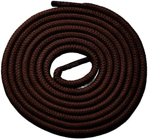 "Primary image for 54"" Brown 3/16 Round Thick Shoelace For All Women's Shoes"