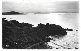 RPPC France 1958 St Lunaire Vers le Cap Frehel Twilight Vintage CAP Postc - $4.99