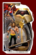 "Mattel DC Comics  6"" AQUAMAN  2015 Action Figure Batman Superman Movie M... - $19.71"
