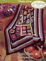 Crochet Pattern - Color, Color Everywhere - The Needlecraft Shop - Thrifty Scrap - $2.25