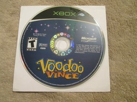 Voodoo Vince (Microsoft Xbox, 2003) DISC ONLY - $8.37
