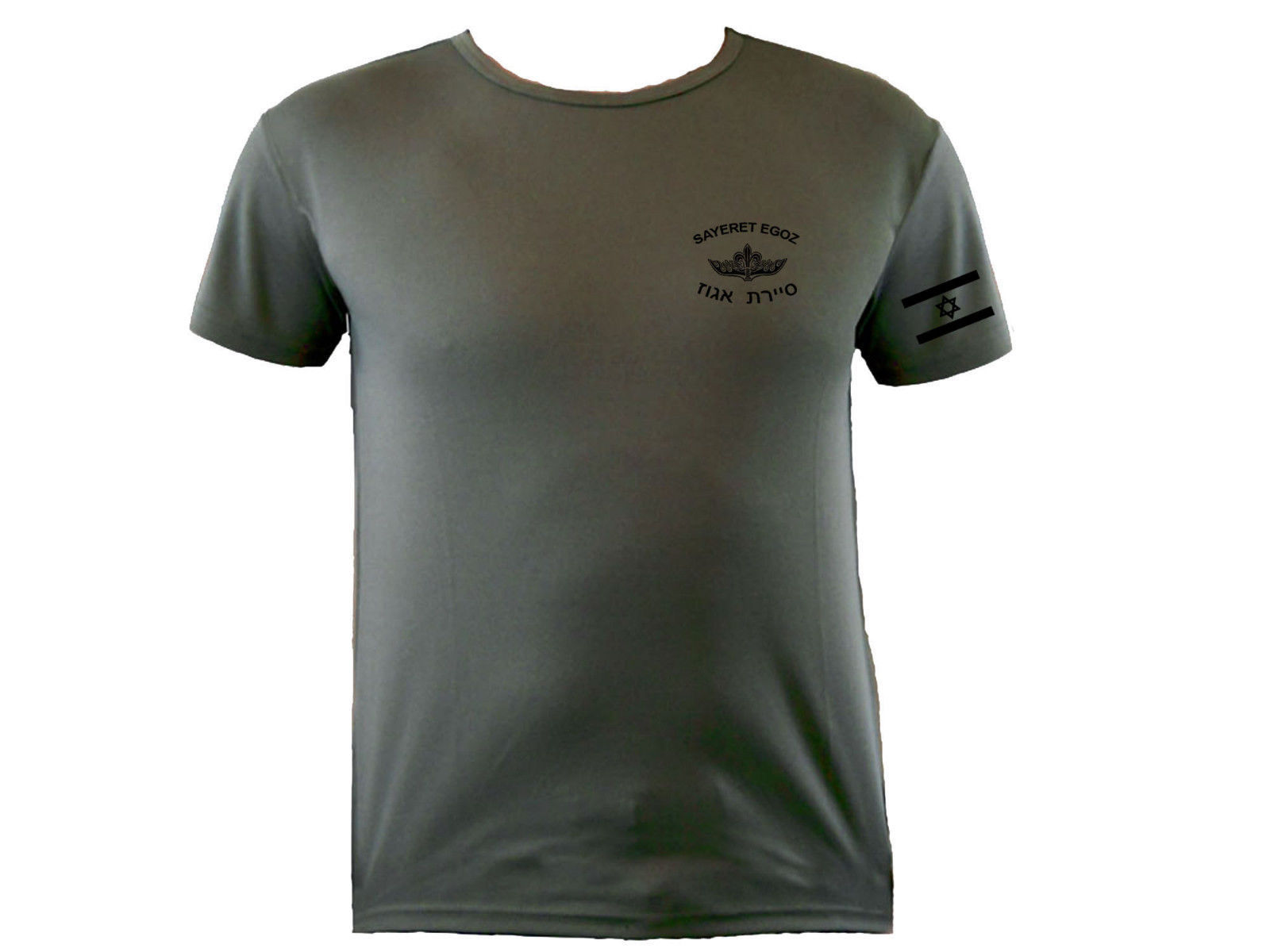 Israeli flag army IDF zahal special Forces Ops Sayeret Egoz sweat proof t-shirt