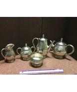 International Royal Danish Sterling Silver 5 Piece Coffee & Tea Set - 13005 - $2,801.75