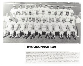 1976 CINCINNATI REDS 8X10 TEAM PHOTO BASEBALL MLB PICTURE - $3.95