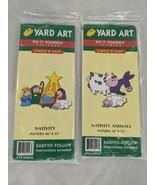 Yard Art Do-it Yourself Patterns Nativity and Animals HDA 1998 - $19.95