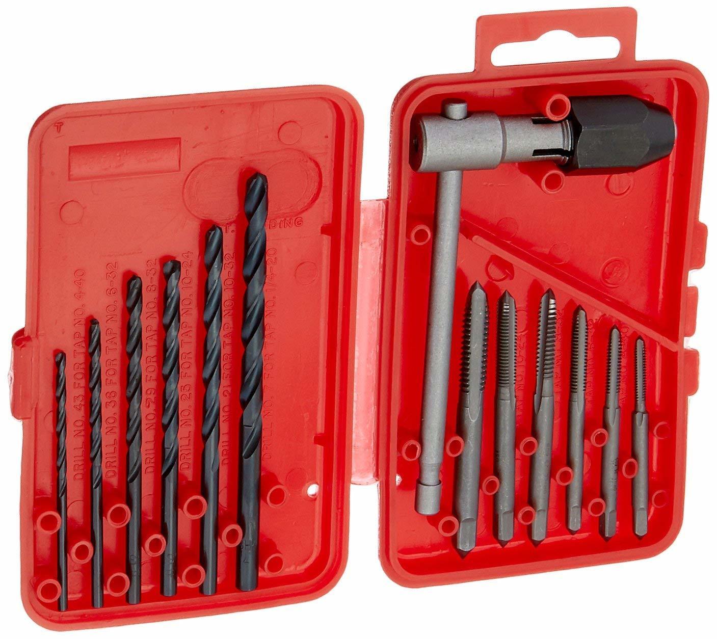 Set of 5 Preamer M35 Cobalt Spiral Grooved Industrial Step Drill Bits