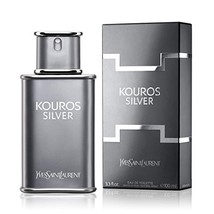 Kouros Silver By Yves Saint Laurent 3.4 oz Eau De Toilette Spray (3.3 fl... - $60.98