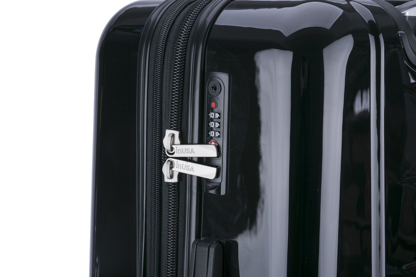 InUSA AirWorld Hardside Medium 24'' Suitcase