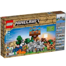 LEGO Minecraft the Crafting Box 2.0 Building Kit 717 Piece Creeper And S... - $69.65