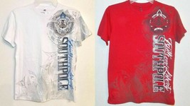 SouthPole Boys T-Shirt Red or White Sizes Med 10-12 or XLg 18-20 NWT - $17.99