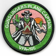 Usaf Air Force VFA-105 Gunslingers Echo Baby Plane Capt Embroidered Jacket Patch - $18.99
