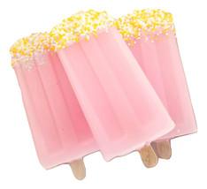 Frozen Lemonade soap popsicle, summer soap, gifts for mom,  dessert bath... - $8.25