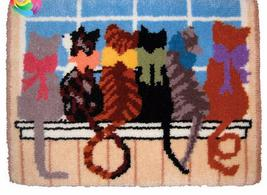6 Cats Rug Latch Hooking Kit - $38.99+