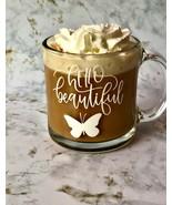 Glass Coffee Mug, Custom Coffee Cup, Tea Cup, Coffee Lover Mug, Birthday Gift - £7.55 GBP