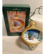 "2005 Hallmark Illuminations ""Watching for Santa"" Lighted Christmas Tree ... - $17.75"