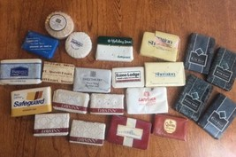 Lot Of 22 Vintage Hotel Casino Soaps Wrapped  - $6.80