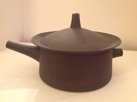 Dansk Flameware Covered Casserole Pot Denmark IHQ Quistgaard Jaques Mid ... - $120.93